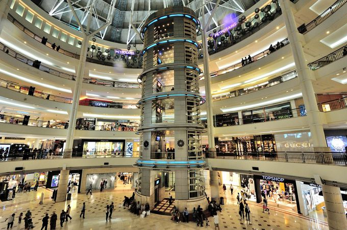 クアラルンプールのショッピングセンター8選